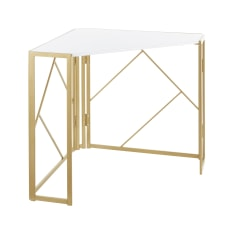 LumiSource Folia 32 W Corner Desk