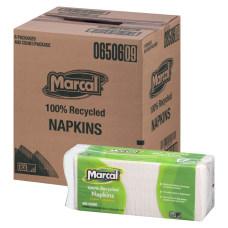 Marcal 1 Ply Luncheon Napkins 12