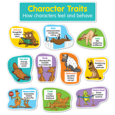 Scholastic Character Traits Bulletin Board Set
