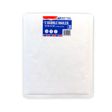 USPS Bubble Mailer Size 2 White
