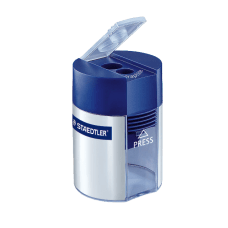 Staedtler Two Hole Metal Pencil Sharpener
