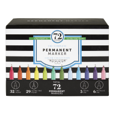 Office Depot Brand Permanent Markers Fine