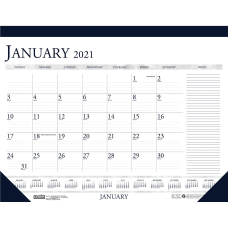 House of Doolittle BlueGray Print Monthly