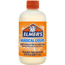 Elmers Activator Solution 825 Oz Clear
