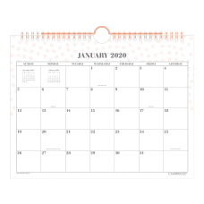 Cambridge WorkStyle Monthly Wall Calendar 11