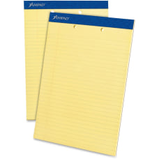 Ampad Perforated Ruled Pads Letter Size