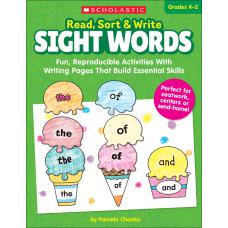 Scholastic Read Sort Write Sight Words