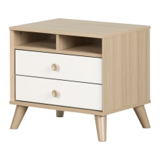South Shore Yodi 2 Drawer Nightstand