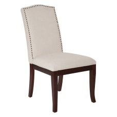 Ave Six Hanson Dining Chair LinenEspresso