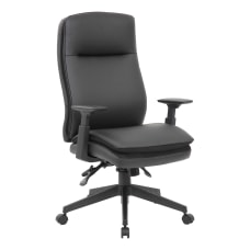 Boss Office Products Caressoft Executive Ergonomic