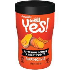 Campbells SquashSweet Potato Sipping Soup Butternut