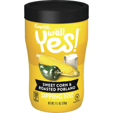 Campbells Sweet CornRoasted Poblano Sipping Soup