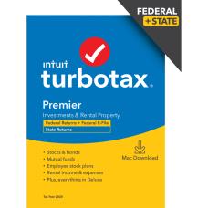 TurboTax Desktop Premier 2020 Federal Efile