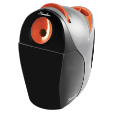 Swingline Optima Electric Pencil Sharpener BlackOrange