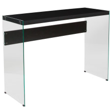 Flash Furniture Console Table With Glass