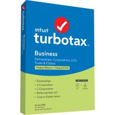 TurboTax Desktop Business Federal E file
