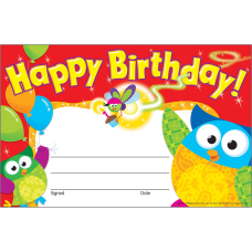 Trend Happy Birthday Owl Stars Recognition