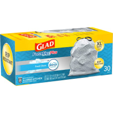 Glad ForceFlex KitchenPro Drawstring Bags Large