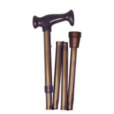 HealthSmart Adjustable Ergonomic Handle Aluminum Folding