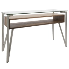 Lumisource Hover Contemporary Console Table Rectangular