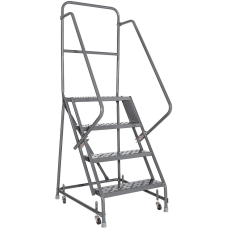 Louisville 4 step Steel Warehouse Ladder