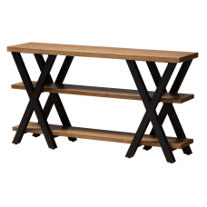 Baxton Studio Ricardo Console Table OakDark