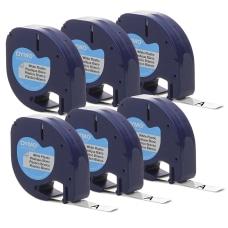 DYMO LetraTag Labelmaker Plastic Labels 12
