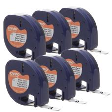 DYMO LetraTag Labelmaker Paper Labels 12