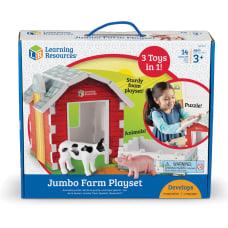 Learning Resources Jumbo Farm Playset ThemeSubject