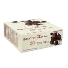 thinkThin Brownie Crunch High Protein Bars