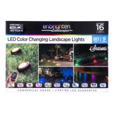 Enbrighten Seasons LED Outdoor Landscape Puck