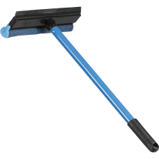 Ettore Scrubber Metal Handle Auto Squeegee