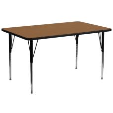 Flash Furniture Rectangular Activity Table 30