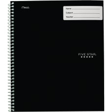 Five Star Interactive Wide Ruled Notebook