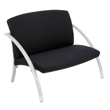 Alba Reception Chairs Black Set Of