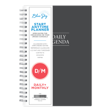 Blue Sky DailyMonthly PP Planner 8