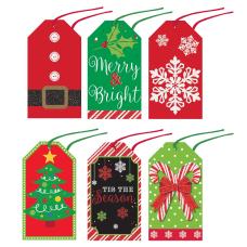 Amscan Christmas Modern Tape On Gift