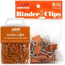 JAM Paper Clips Combo Kit RegularSmall