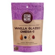 SECOND NATURE Vanilla Glazed Omega 3