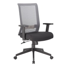 Boss Office Products Horizontal Mesh Back