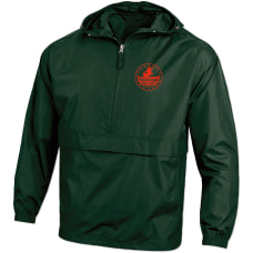 Customizable Packable Jacket Assorted Colors