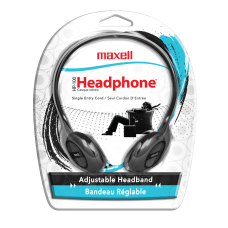 Maxell HP 100 Lightweight Stereo Headphone