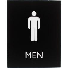 Lorell Restroom Sign 1 Each Men