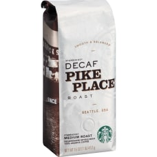 Starbucks Pike Place Decaf Whole Bean
