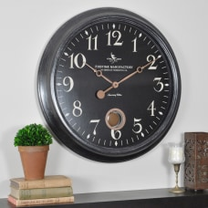 FirsTime Varenna Wall Clock 24 Distressed