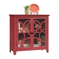 Sauder Shoal Creek Elise Display Cabinet