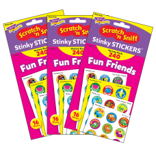 Trend Stinky Stickers 1 Fun Friends