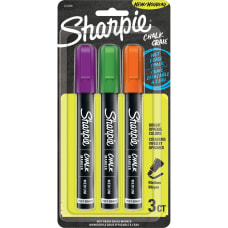 Sharpie Wet Erase Chalk Markers Chalk