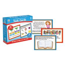 Carson Dellosa CenterSOLUTIONS Task Cards Grade