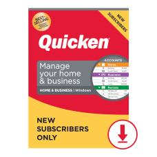 Quicken Home Business 2021 Windows